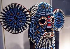 Elephant (Aka) Mask, askew