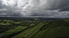 Photo of Aerial view over Llandiloes
