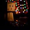 Danbo (jinx_gfx) Tags: heart bokeh yotsuba danbo revoltech danboard