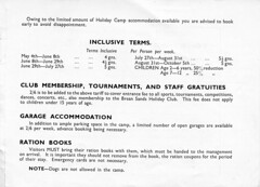 Pontins Brean Sands Holiday Camp Brochure 1946 (trainsandstuff) Tags: vintage brochure 1946 pontins holidaycamp breansands fredpontin
