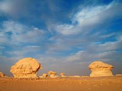 White desert (denismartin) Tags: sky cloud sand egypt sandstorm limestone egypte bahariya whitedesert westerndesert farafra libyandesert chalkrock desertblanc denismartin farafradepression