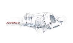 LeylandThomas_01 (Stefan Marjoram) Tags: art car pencil sketch drawing automotive motor