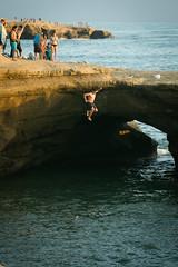 283 (nelson.kimberli) Tags: ocean california travel sunset sandiego sunsetcliffs cliffdivers daredevils luscombspoint