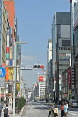tokyo5233 (tanayan) Tags: road street urban japan tokyo ginza town alley nikon cityscape 日本 東京 銀座 j1 chuo 中央通り