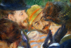 Renoir, Luncheon of the Boating Party, Eugène Pierre Lestringuez, Paul Lhote, Jeanne Samary