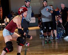 rebels_vs_panic_L3506463 1 (nocklebeast) Tags: ca usa santacruz rollerderby rollergirls zombies vampires skates organicpanic santacruzderbygirls redwoodrebels