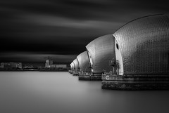 Welcome to the machine (vulture labs) Tags: uk longexposure blackandwhite bw london architecture thamesbarrier ndfilter daytimelongexposure neutraldensityfilter firecrest bwlondon bwlongexposure vulturelabs 16stops