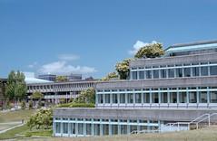 Maggie Benston Building (jvde) Tags: burnaby coolscan film sfu nikonfe 3570mmf3345nikkor gimp