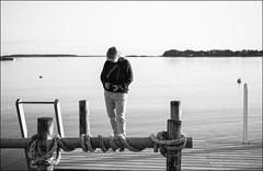 Shooting (Eline Lyng) Tags: leica autumn sea people nature water norway landscape photography 50mm coast eveningsun hobby shooting coastline larkollen leicamonochrom aposummicron50mm
