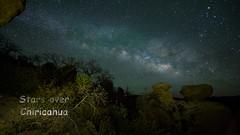 Chiricahua Stars (maguire33@verizon.net) Tags: stars timelapse milkyway chiricahuanationalmonument lrtimelapse