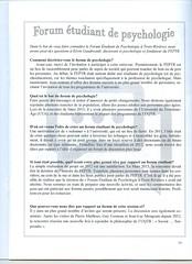 Entrevue de Kvin Gaudreault dans le journal  La Perspective  pour le FEPTR (forumfeptr) Tags: forum universit tudiant troisrivires uqtr psychologie kvin gaudreault feptr