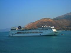 MSC Armonia in Argostoli, Kefalonia (ForceMajeureMontenegro) Tags: greece griechenland kefalonia argostoli mscarmonia grka grija