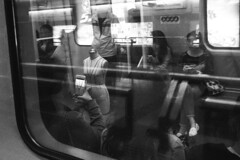 Nameless (Spontaneousnap) Tags: life china city people urban blackandwhite bw subway asia shanghai candid like lifestyle 上海 ricohgr spontaneousnap publicareas
