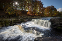 Aysgarth Falls II (Draws_With_Light) Tags: camera autumn water canon river season landscape eos is waterfall slow mark yorkshire iii north hard places scene falls 09 lee nd slowshutter shutter vegetation 5d usm filters grad f4 northyorkshire aysgarth aysgarthfalls 105mm polariser landcsape ef1635mm canoneos5dmarkiii lee09ndhardgrad ef1635mmf4isusm lee105mmlandcsapepolariser