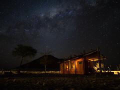Milky Way over Sossusvlei Desert Camp