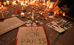 Auckland NZ Paris Vigil (Peter Jennings 17.3 Million+ views) Tags: new paris france war peter auckland zealand nz killed vigil blasts attacks act prayers jennings gunfire lockdown