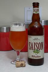 St. Feuillien Saison (jimmy_martin_62) Tags: usa beer lumix orlando ale surgery panasonic fl hernia postop saison lumixl1