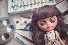 Finishing Bo~ Blythe custom
