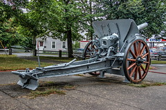 French 75 Field Gun (robtm2010) Tags: usa canon memorial war massachusetts military wwi newengland weapon artillery t3i french75 leominster fieldgun carterpark
