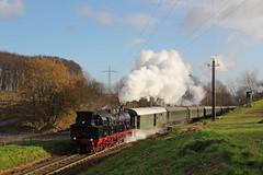78 468 auf dem Weg von GM-Hütte gen Hasbergen (fabian.kappel) Tags: 78 dampflok museumseisenbahn sonderzug gme hasbergen eisenbahntradition