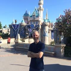 Sam at Sleeping Beauty Castle (Sam Howzit) Tags: california sleepingbeautycastle disneylandresort samhowzit disneyland60th disneylanddiamondcelebration