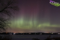 Happy New Year Aurora (Winglet Photography) Tags: winter storm cold wisconsin night dark lights evening solar aurora planet northernlights auroraborealis cme stockphoto geomagnetic auroraville wingletphotography georgewidener georgerwidener