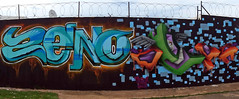 Zeno & Beva (Mr Baggins) Tags: streetart graffiti riot trips drake johannesburg mhc shiz zeno jozi westdenegraffitiproject