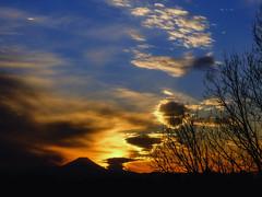 sunset, Today (Masahiko Kuroki (a.k.a miyabean)) Tags: sunset sky x30