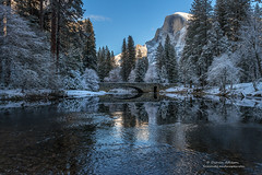 Winter Wonderland (Darvin Atkeson) Tags: california park snow mountains clouds forest landscape nevada canyon sierra glacier national valley yosemite halfdome rest bridalveil elcapitan darvin atkeson darv lynneal yosemitelandscapescom