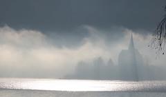 "Wörthersee (A) Maria Worth - ""Dissolvenza"" (Fabrizio Lucchese 1') Tags: austria österreich fog nebbia wörthersee inverno winter alpi montagna canon760d fabriziolucchese lake"