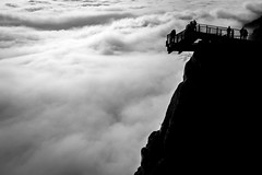 Above the clouds ([AUT]side) Tags: mountain clouds austria wand wolken inversion hohe skywalk wolkendecke inversionswetterlage