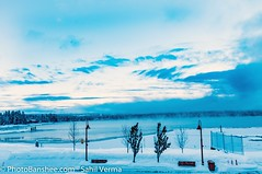 Frozen lake Payette (sahilvermaphotography) Tags: winter wild panorama usa lake snow mountains cold love ice nature beautiful landscape photography frozen nikon exposure view northwest awesome low wide freezing idaho temperature wonderland mccall