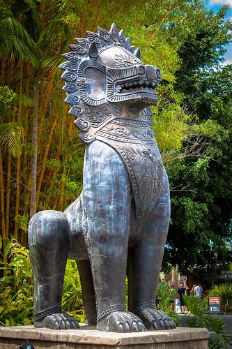 Statue at Australia Zoo