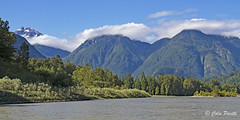 Upper Fraser River (Colin Pacitti) Tags: river mountains snowcapped hills trees water fraserriver britishcolumbia canada coth sunrays5 ngc