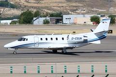 D-CSUN Cessna Citation 560 Madrid Barajas Airport 26th May 2014 (_Illusion450_) Tags: aeropuerto adolfosuárezmadrid–barajasairport adolfosuárez madridbarajasairport adolfo suárez madrid–barajas airport madridairport 26514 260514 dcsun cessna citation c560