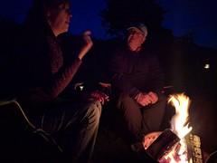 Camping at Waungadog (deadmanjones) Tags: nackuk zjlb campfire barbecue bbq waungadogfarm kidwelly cydweli camping campsite