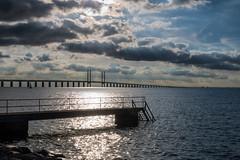 Dock and Bridge (Infomastern) Tags: malm sibbarp bridge bro brygga dock hav pier sea water resundsbron