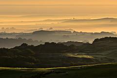 Morning mists (pentlandpirate) Tags: buxton derbyshire peakdistrict dawn mist fog layers