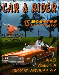 Car & Rider (bethrosengard) Tags: bethrosengard photomanipulation digitallyenhanced photoart digitalmagic digitalart