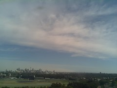 Sydney 2016 Oct 21 09:08 (ccrc_weather) Tags: ccrcweather weatherstation aws unsw kensington sydney australia automatic outdoor sky 2016 oct morning