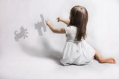 theater of shadows (aandziaa) Tags: child childhood imagination theather shadows