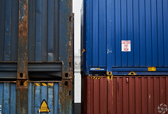Containers (PaaulDvD) Tags: rotterdam colors river maas netherlands boat water city urban