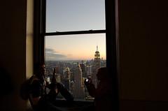 That View | Top of the Rock (BrainNY08) Tags: nikon nikond7000 rockefellercenter topoftherock 30rock sunset empirestatebuilding newyork newyorkcity