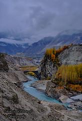 Hunza River (Shehzaad Maroof Khan) Tags: hunza river autumn gilgitbaltistan kkh karakoram mountains pakistan nature fog