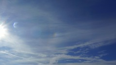 Seaside sundog (SteveJM2009) Tags: sundog sky clouds bournemouth dorset uk sun light october 2016 stevemaskell parhelion