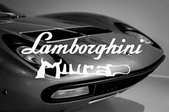 Lamborghini Miura, Museo Lamborghini, Sant'Agata Bolognese, Italia (dommmmh89) Tags: lamborghinimiura museolamborghini santagatabolognese italia logo black white bianco nere icon