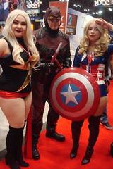 NYCC 2016 10-8-16 (29) (Comic Con Culture) Tags: cosplay nycc nycc2016 newyorkcomiccon newyorkcomiccon2016 nyc newyorkcity javitscenter msmarvel daredevil captainamerica marvel netflix