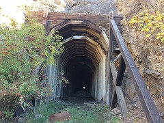 Great Northern Railway tunnel -Sinilkameen trail