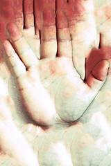 Meat Factory I (Isengardt) Tags: abstract abstrakt art kunst finger hand spock handsign handzeichen fleisch meat factory fabrik livelongandprosper lebelangundwohl v olympus omd em1 1250mm handflche zeichen sign enterprise raumschiff disturbing verstrend