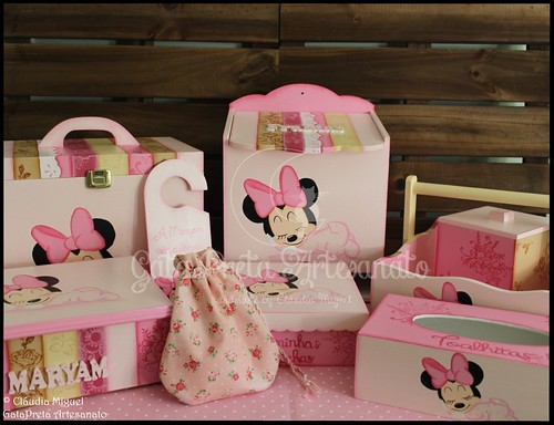 "Conjunto de bebé ""Sleeping Minnie"""